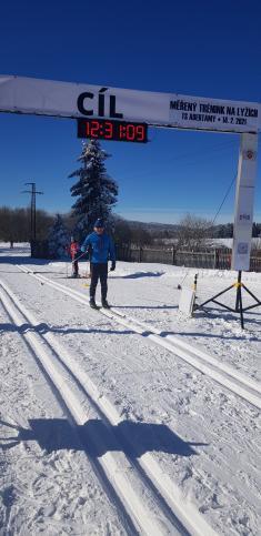 Měřený trénink 14.2. 2021- Cíl